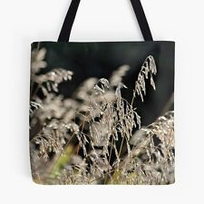 MEADOW GRASS ~ TOTE BAG w/EXCLUSIVE NATURE DESIGN ~ Stunning Unique