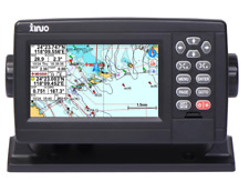 """Marine GPS Chartplotter 5"""" UK / Western Europe Charts, NMEA0183 IN / OUT + cable"""