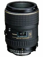 Tokina Macro Lens At-X M100 Pro D 100Mm F2.8 Macro Nikon Film / Digital Single-L