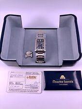 Maurice Lacroix Ref.89746 Herren Armbanduhr Edelstahl Quartz 41mm Box Papiere