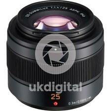 Panasonic Leica DG Summilux 25mm F1.4 II Lens (H-XA025E)