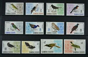 SAMOA, 1967 / 69, set of twelve stamps to $4 value, MM condition, Cat £27.