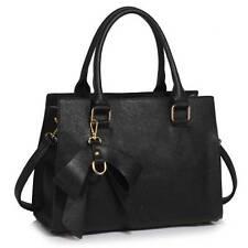LeahWard Women's Designer Bow Bags Large School Bag Tote Handbags A4 Ladies 374