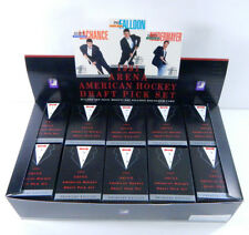 Nice Display Box of (20) 1991 Arena American Hockey Draft Pick Factory Sets