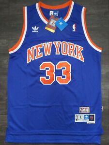 Patrick Ewing New York Knicks Hardwood Classics Jersey #33 Men's S-XXL - NWT