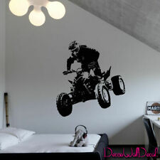 Wall Decal bike track Quad Bike Quadrocycle ATV Race Moto jump Nursery M1729