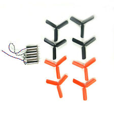 8pcs 3-Blade Propeller + 0820 Coreless Motor for DIY Micro RC FPV Quadcopter