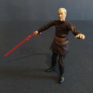 "2004 Hasbro Star Wars ROTS Count Dooku Loose 3.75"" Action Figure"