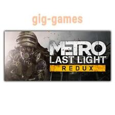Metro: Last Light Redux PC spiel Steam Download Digital Link DE/EU/USA Key Code