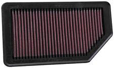 "K&N (33-2472) Replacement Air Filter 10.625"" O/S L x 5.75"" O/S W x 1"" H"