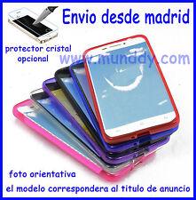 Funda Silicona Tpu Gel mate Para Motorola MOTO E2 (protector cristal opcional)