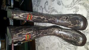 "Lacrosse Grange 18"" NWTF Mossy Oak Original Bottomland Knee High Boot size 15"