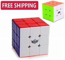 Speed Rubix  3x3 Cube Smooth Magic Puzzle Rubic Stickerless Gift Rubiks Toy Play