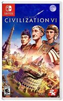 Sid Meier's Civilization VI [CIV 6] for Nintendo Switch BRAND NEW FACTORY SEALED