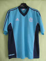 Maillot Olympique Marseille 90'S Adidas Entrainement Vintage OM Jersey - XL