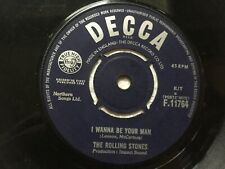 """The Rolling Stones, I Wanna Be Your Man 7"""" vinyl, 1963"""