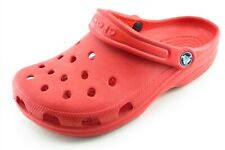 Crocs Size 8 M Red Clogs Shoes Synthetic Women
