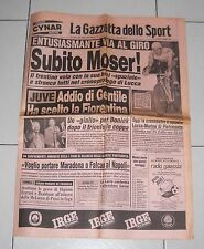The Journal Sport Giro d' Italia 1984 immediately Moser Lucca 18 may cycling