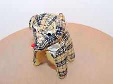 Plaid Dog Pin Cushion  (12096)
