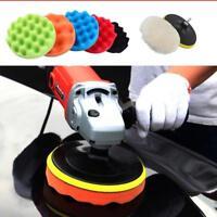 """7/12pcs 3/5/6/7"""" Buffing Sponge Polishing Pad Kit Set For Car Polisher Buffer"""