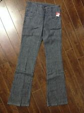 "See Thru Soul Women's Blue Jeans - Size 24 (26"" Waist) - NWT"