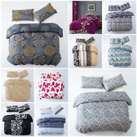 King Size Duvet Cover Set Luxury Bedding Set Printed Quilt With Pillow Cases