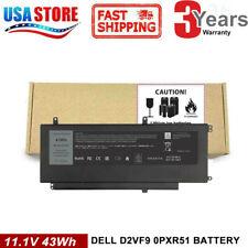 D2VF9 PXR51 Battery For Dell Inspiron 15 7547 7548 Vostro 5459 V5459 4P8PH YGR2V