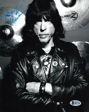 MARKY RAMONE SIGNED AUTOGRAPHED 8x10 PHOTO DRUMMER RAMONES PUNK ROCK BECKETT BAS