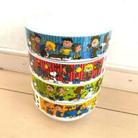 Snoopy 70th anniversary model bowl 4set KFC x Peanuts 2020 New Japan Limited