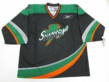 CHICAGO SHAMROX NLL LACROSSE BLACK PRO AUTHENTIC REEBOK JERSEY SIZE 56