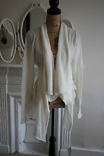 BNWT Crea Concept Cream Cardigan Waterfall Lagenlook Alpaca 10 Small RRP215! NEW