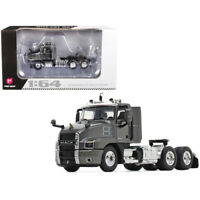 Mack Anthem Day Cab Tractor Truck Graphite Gray 1/64 Diecast Model by First G...