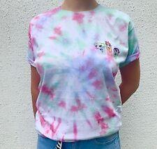Power Puff Girls Tie Dye T Shirt