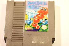 Nintendo Nes Juego De Serpiente Cascabel n Roll NES-RJ UKV PAL (juego Solamente)