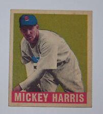 1948 Leaf Baseball Mickey Harris #27
