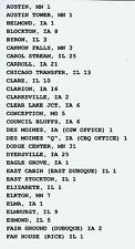 CHICAGO GREAT WESTERN RAILWAY TRAIN ORDERS  (532)  SYSTEMWIDE CD 1909-1968.