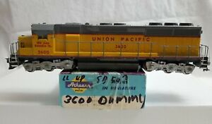 ATHEARN HO BLUE BOX SD-45 UNION PACIFIC #3600 - DUMMY w/ LOTS OF DETAILS - NICE