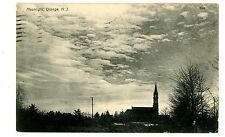 Orange NJ - CHURCH IN THE MOONLIGHT - Postcard