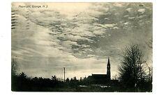 Orange NJ - CHURCH IN THE MOONLIGHT - Postcard