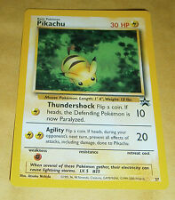 POKEMON BLACK STAR PROMO CARD - #27 PIKACHU NM