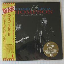 RICHARD & LINDA THOMPSON - In Concert November 1975 JAPAN SHM MINI LP CD OBI NEU