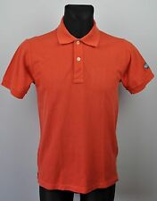 MURPHY & NYE Crew Men's Polo Shirt Medium *Made in Italy* Red Henley Rugby M