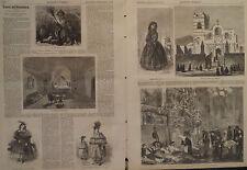 AREQUIPA PERU ANDES SOUTH AMERICA ALPACA TRAVEL & ADVENTURE HARPER'S WEEKLY 1871