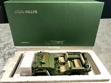 1:18 Jeep Willys (Green) AUTOart Signature BNIB with Certificate of Authenticity