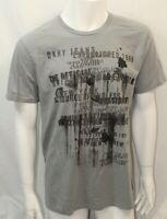 DKNY Jeans Men Crew Tshirt  Gray  Size  Large  NWOT