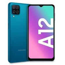 """SAMSUNG GALAXY A12s 2021 BLUE 64GB ROM 4GB RAM DUAL SIM AMDROID DISPLAY 6.5"""" HD"""