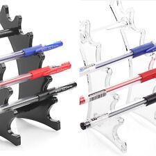 Pencil Pen Makeup Brush Eyebrow Acrylic Display Stand Rack Organizer Holder w/