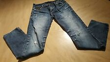 A/X ARMANI EXCHANGE  mens jeans size 30 x 32 **DISTRESSED RIPPED **