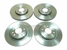 VAUXHALL VECTRA C 1.8 1.9 CDTi 2.0 2002-2009 FRONT AND REAR BRAKE DISCS  NO PADS