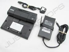 Dell Latitude E6500 Docking Station Port Replicator J577C FJFGD Inc PSU